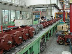 水泵电机组装