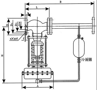 自力式压力调节阀结构图1